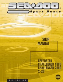 2002 SeaDoo Speedster Service Manual