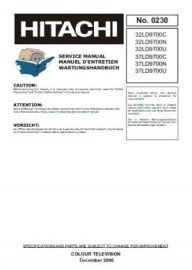 32LD9700N Service Manual