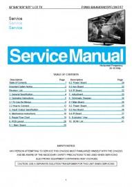 55PFL5907/F7 Service Manual