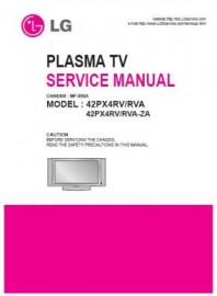 42PX4RV Service Manual