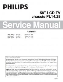 58PFL4909/F7 Service Manual