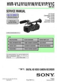 HVR-V1U Service Manual