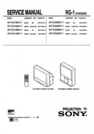 KP-E41SN11 Service Manual