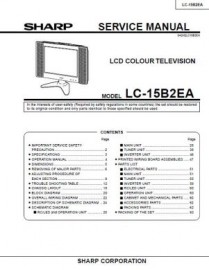 LC-15B2EA Series Service Manual