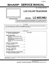 LC-60C46U Series Service Manual