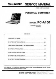 PC-A100 Series Service Manual