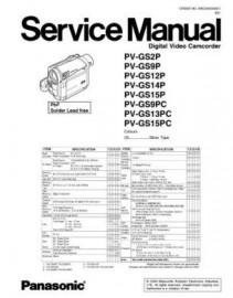 PV-GS13PC Service Manual