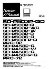 SD-P453S-Q Service Manual