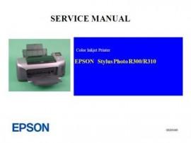 Stylus Photo R300 Service Manual