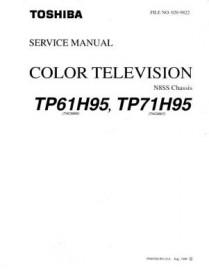 TP61H95 Service Manual