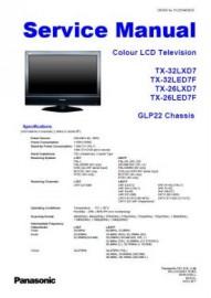 TX-26LXD7 Service Manual