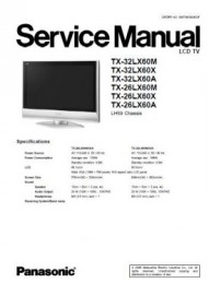 TX-32LX60 Series Service Manual