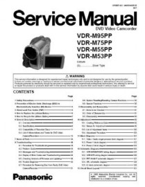 VDR-M53 Series Service Manual