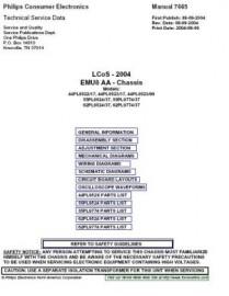 55PL9774/37 Service Manual