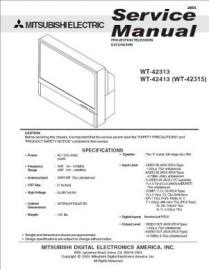 WT-42313 Service Manual