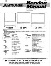 VS-6071 Service Manual