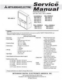 WS-73513 Service Manual