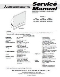 WD-62525 Service Manual