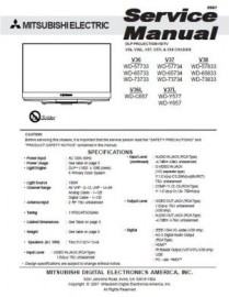 WD-73733 Service Manual