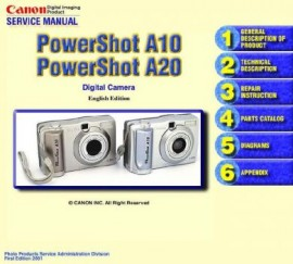 PowerShot A10 Service Manual