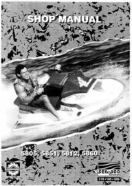 1992 SeaDoo SP Service Manual