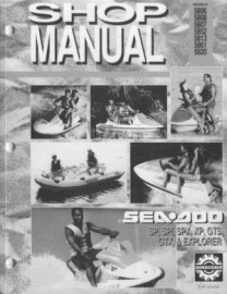 1993 SeaDoo XP Service Manual