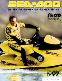 1997 SeaDoo SP Service Manual