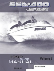 1999 SeaDoo Speedster Service Manual