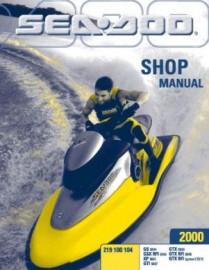 2000 SeaDoo GS Service Manual