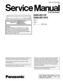 DMR-ES15P Service Manual
