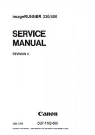 ImageRunner 400 Service Manual
